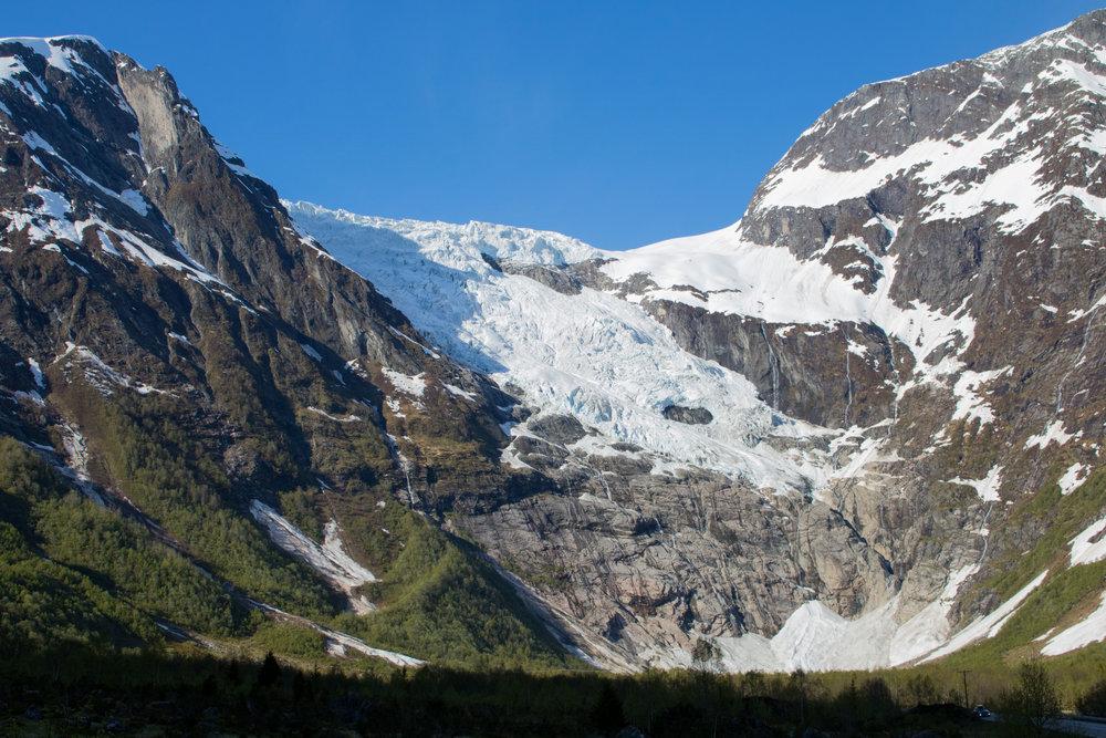 Bøyabreen Gletscher 2017