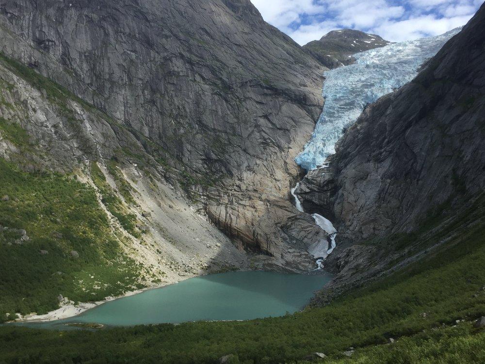 Briksdalsbreen Gletscher 2017