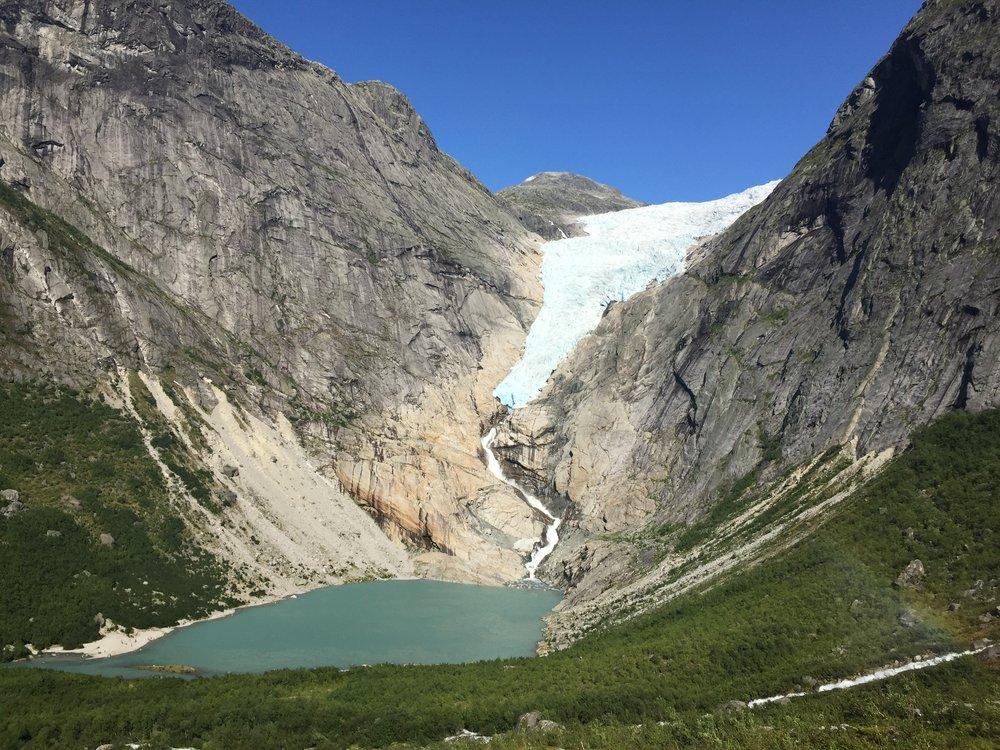 Briksdalsbreen Gletscher 2018