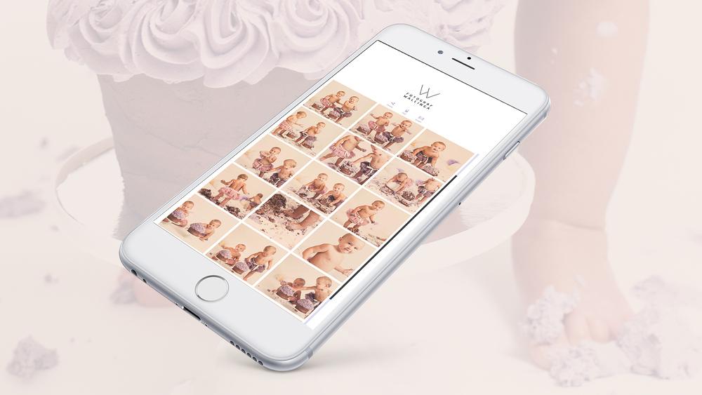 Kjempestilig app med fantastiske bilder er inkludert i fotograferingen!