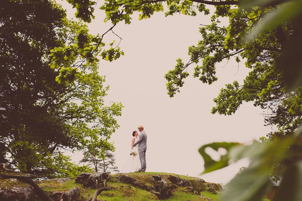 Bryllupsfotograf for Heidi og Andreas i Sande i Vestfold