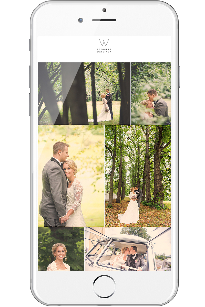 Bryllupsfotograf Kasper van Wallinga tilbyr unik fotoapp til sine brudepar. Alle får en egen app med de aller beste bryllupsbildene.