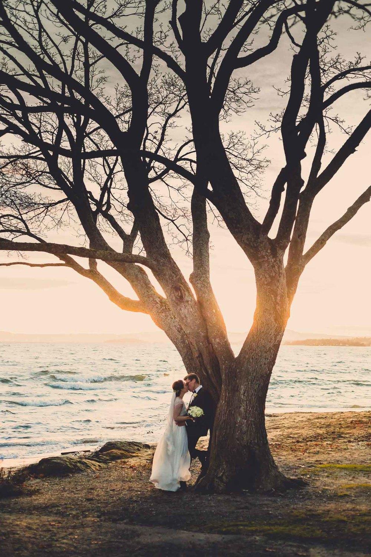 Bryllupsfotografering på Bygdøy i Oslo av Tine og Fredrik