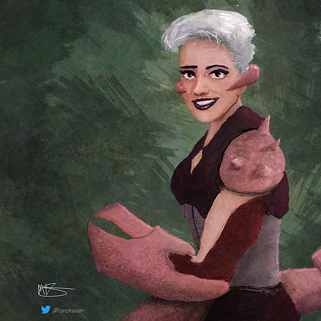 #SheRa #Scorpia #fanart #digitalpainting