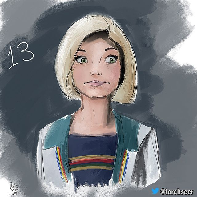 Thirteen #digitalpainting #fanart #doctorwho