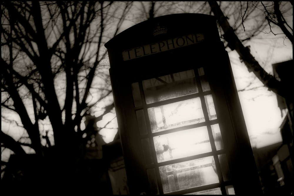 Telephone box,Chester.