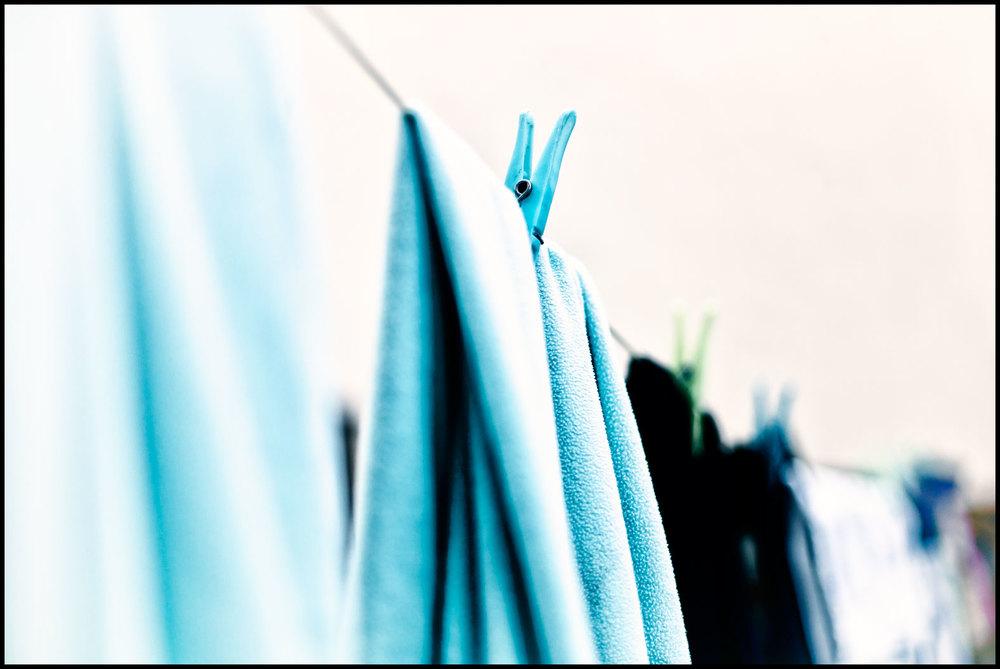 Blue peg.