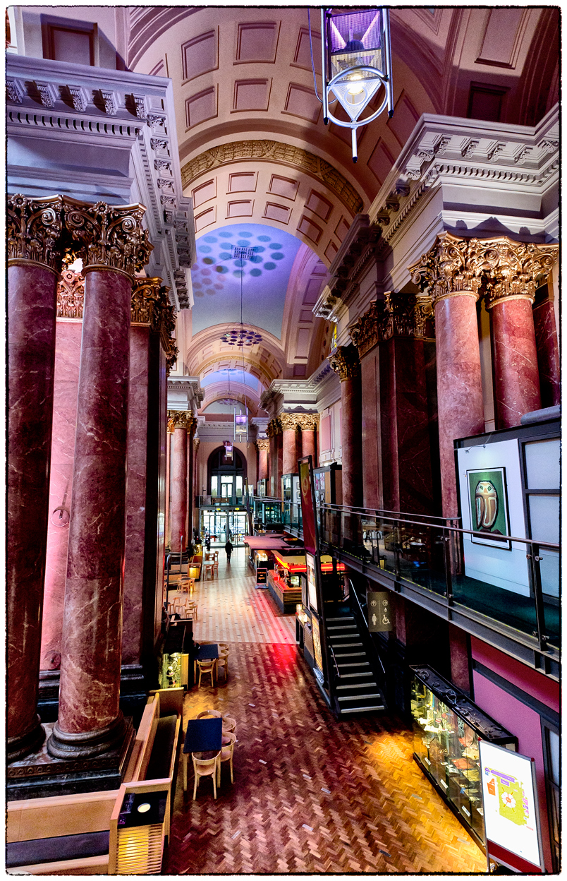 The Royal Exchange has got to be my favourite place in Manchester to shoot interiors.