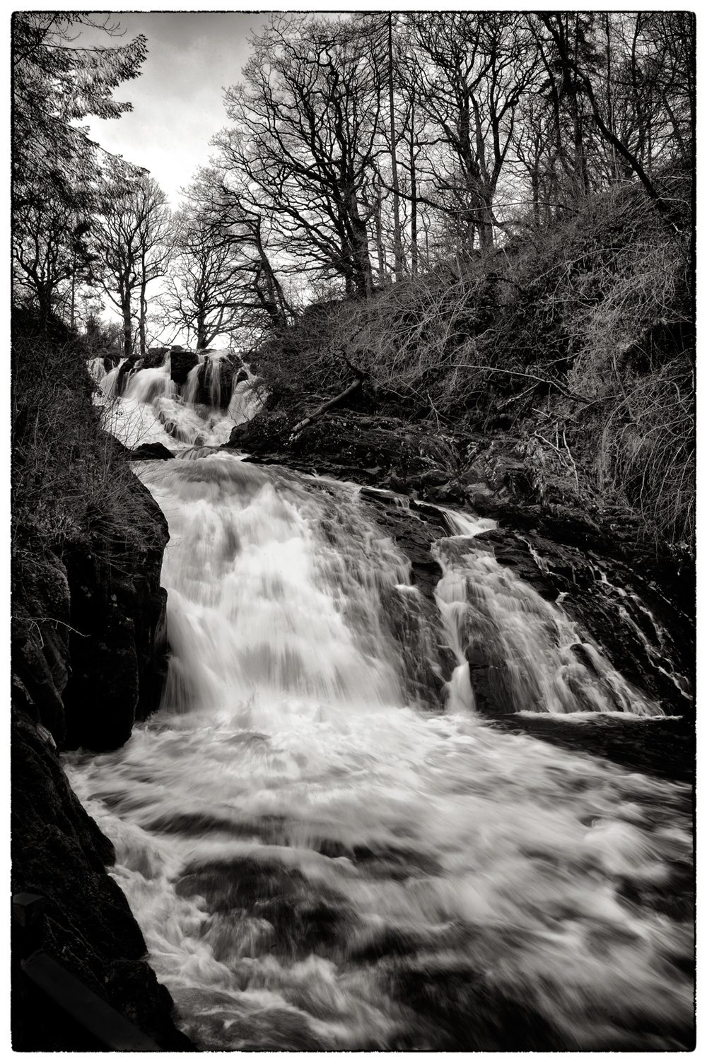Swallow Falls, just west of Betws-y-Coed.