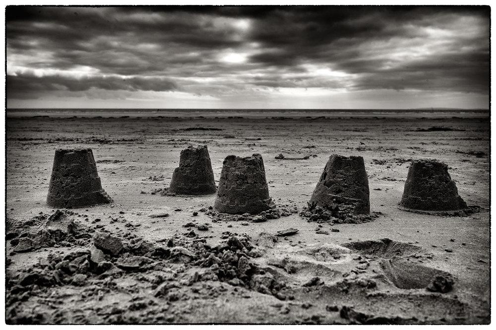 Sandcastles, Portmadog.