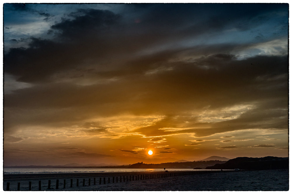 Last nights sunset, Porthmadog.