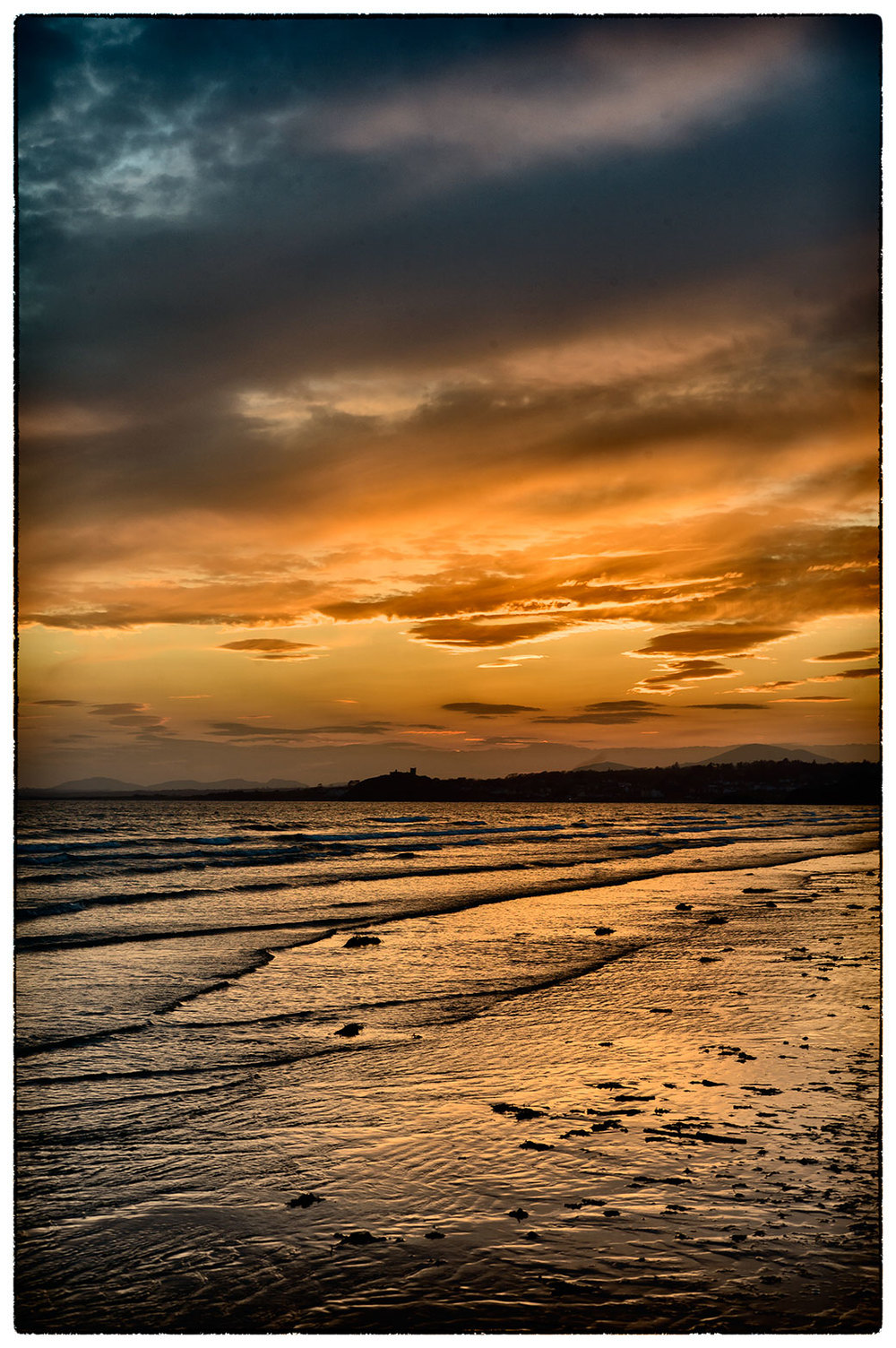Another shot of a glorious sunset at Porthmadog.