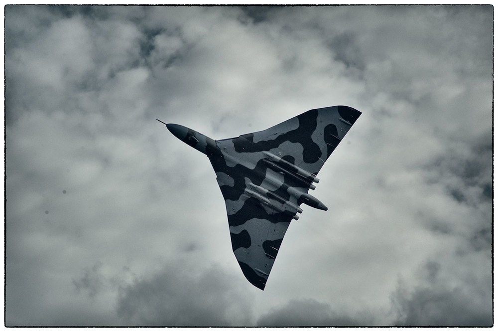 Random selection from the archive! The last flying Vulcan bomber.
