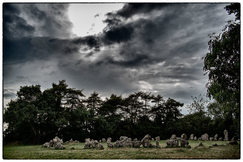The Rollright Stones near Chipping Norton. Had a meeting near Oxford, stopped here on the way back.