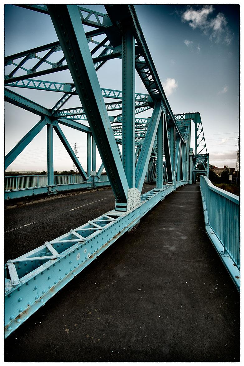 The Blue Bridge in Deeside once again.