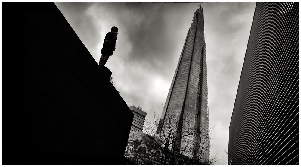 The Watcher (in the skies). The Shard, London.  In brackets is for all you early Genesis fans.