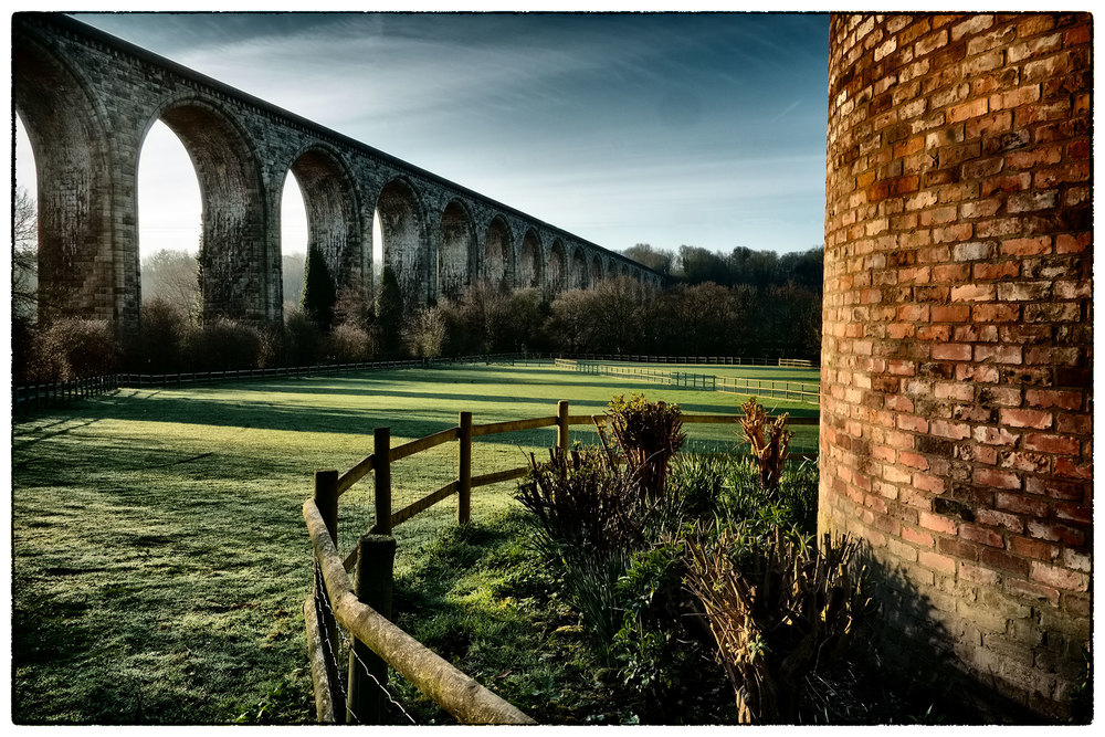 Up early this morning, Cefn Viaduct, Vale of Llangollen.