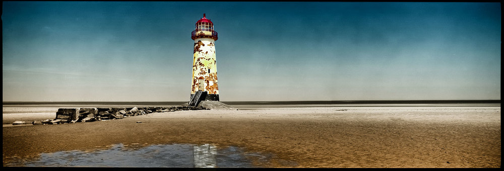 The Lighthouse Tower, Talacre, North Wales.