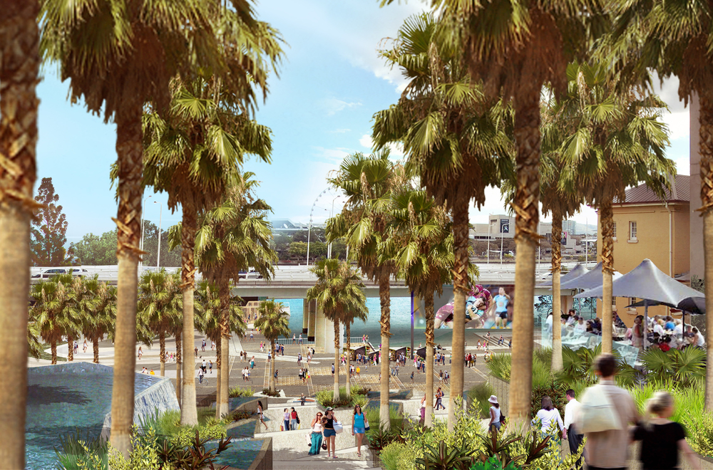 CUSP's work for Destination Brisbane Consortium's bid for Queen's Wharf Precinct.