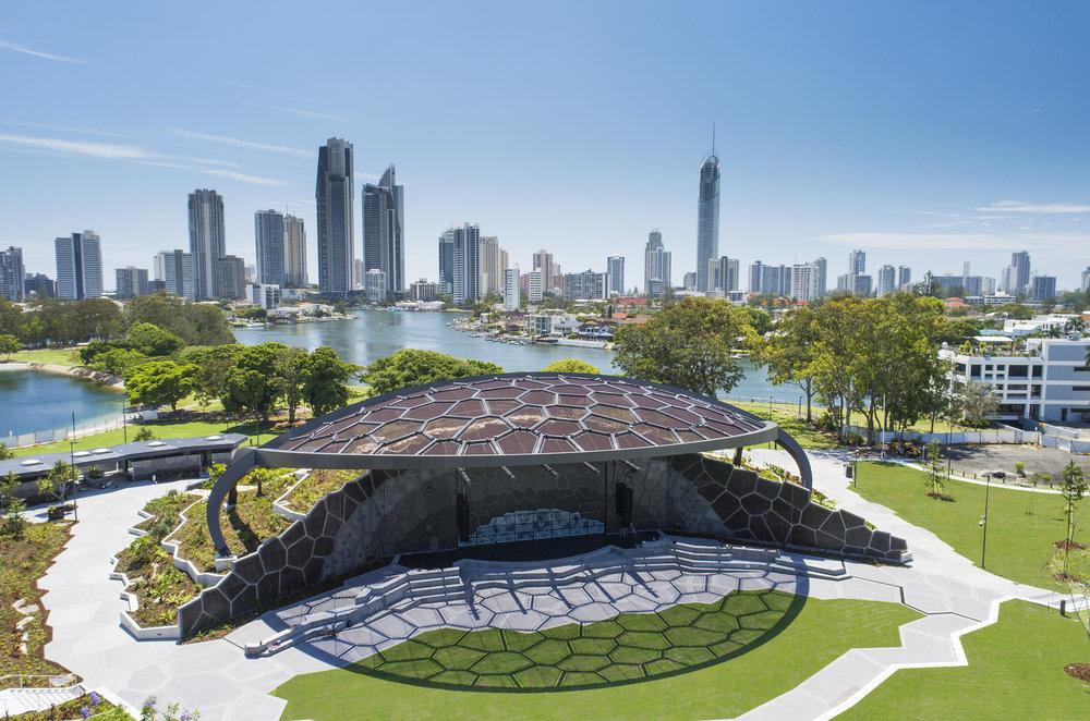 Gold Coast Cultural Precinct - The VOS (John Gollings 2017)