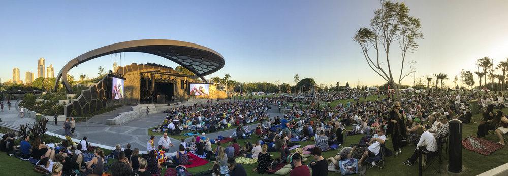 Gold Coast Cultural Precinct - The VOS (Aaron Poupard 2017)
