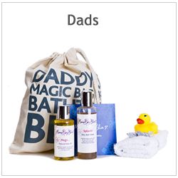 A set of MamaBabyBliss New Dad Products