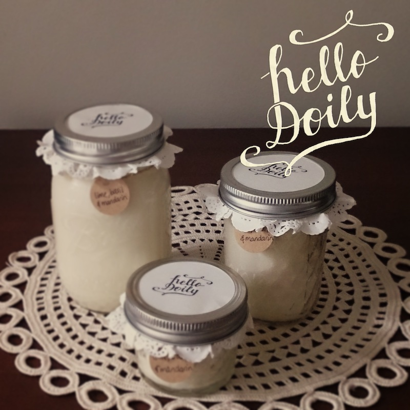 doily-candle