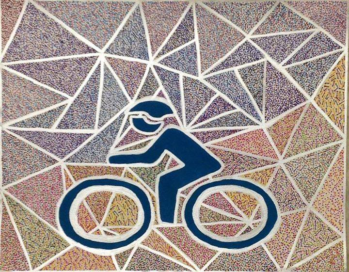 Bikelantisart piece by TIM FLAGG