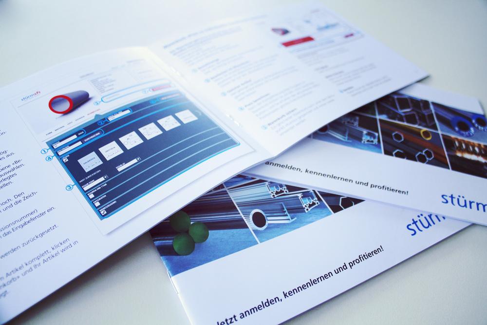 Die Broschüre: Klar, informativ und übersichtlich