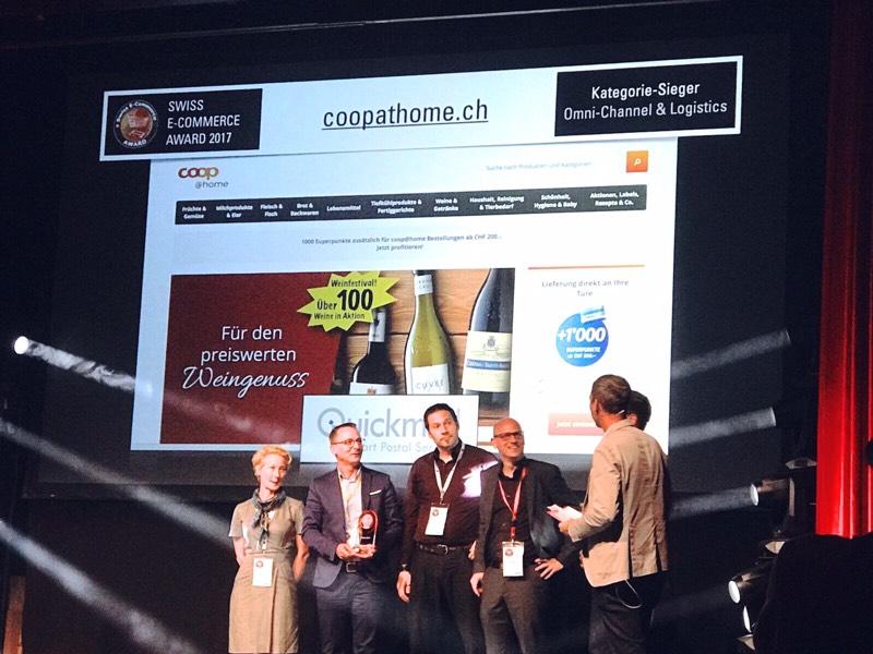 ... und der zweite Preis in Omni-Channel & Logistics