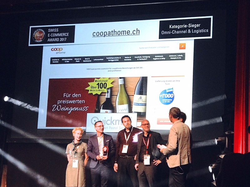 ... second award for Omni-Channel & Logistics