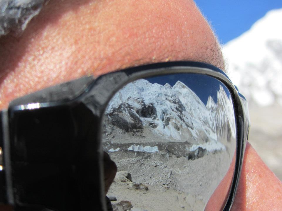 "Eyes on Everest…   ""Most men die at 27, we just bury them at 72"" -Mark Twain"