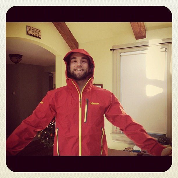 Many thanks @marmot for the Speed Light Jacket! I can now finally retire old glory!