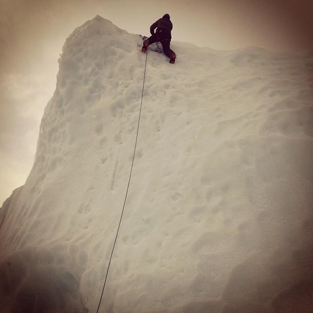 """""""Rest days"""" at Everest Base Camp."""