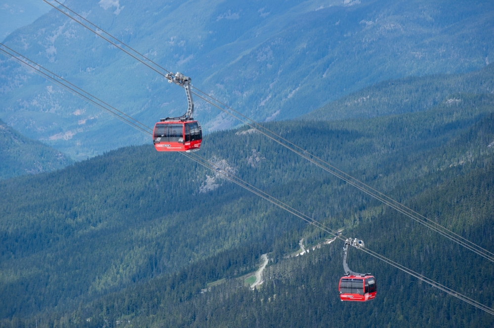 Ride the record-breaking Peak to Peak Gondola