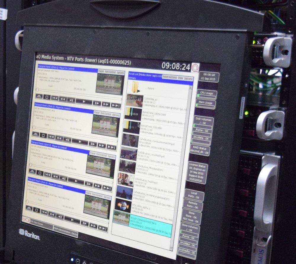 aq media system at newfoundland broadcasting company