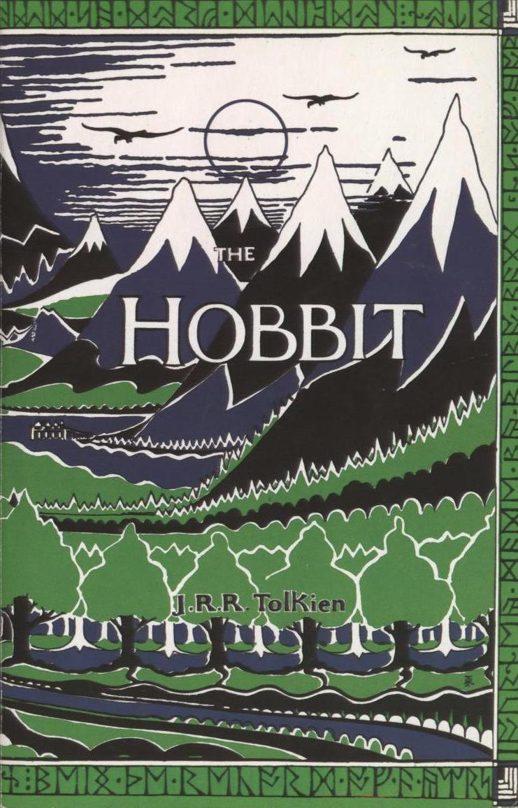 Tolkien's original cover design