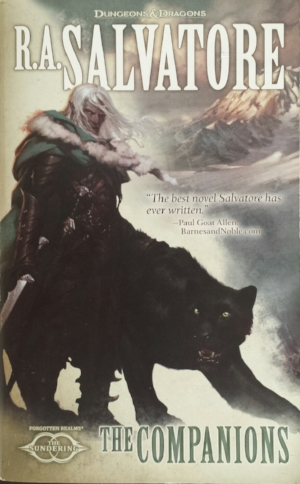 The Companions R. A. Salvatore Read in August 2016