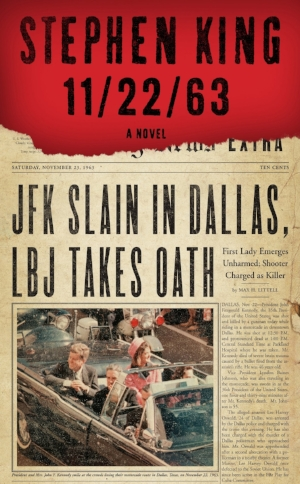 11/22/63  Stephen King  Read in January 2017