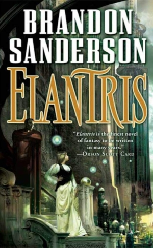 Elantris  Brandon Sanderson  Read in August-September 2018