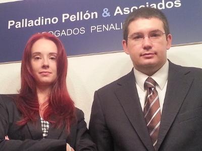 Doña Marta Pellón Pérez     Abogada Penalista y Criminóloga     Don Martín Ignacio Palladino     Abogado Penalista     Palladino Pellón - Abogados Penalistas      Estudio Criminal - Especialistas en Criminología y Derecho Penal