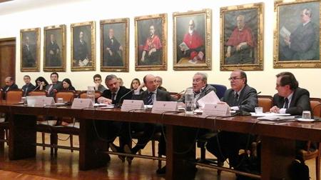 D. Antonio AGÚNDEZ, D. Raúl CANOSA, D. Francisco RUBIO LLORENTE, D. Javier G. ROCA y D. Francisco MARHUENDA.