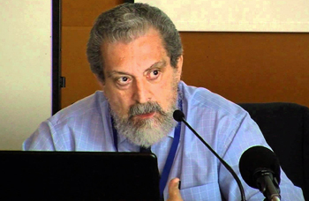 D. Carlos Galán, intervino con la ponencia:El nuevo Reglamento Europeo de Protección de Datos: una aproximación a la conformidad legal.