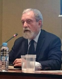 Don Carlos GALÁN en un momento de su intervención en el evento.