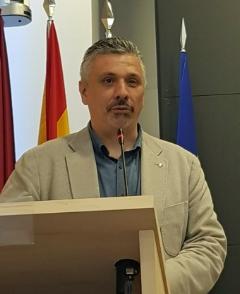 Presentó el evento D. Antonio AGÚNDEZ LÓPEZ, Abogado, Vicepresidente de APROED.