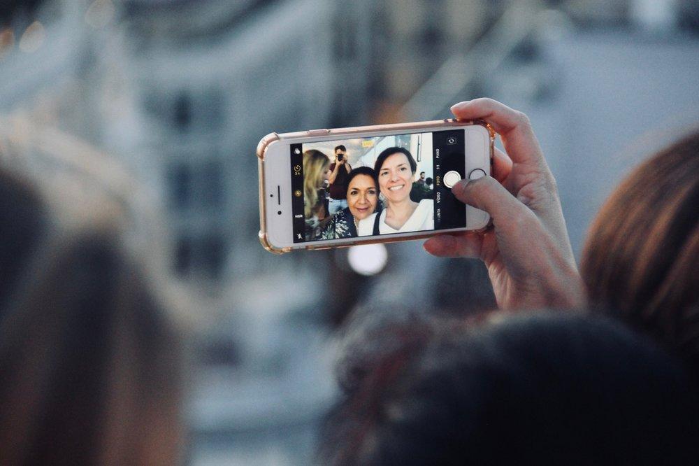 Selfie, Azotea del Círculo de Bellas Artes, Madrid