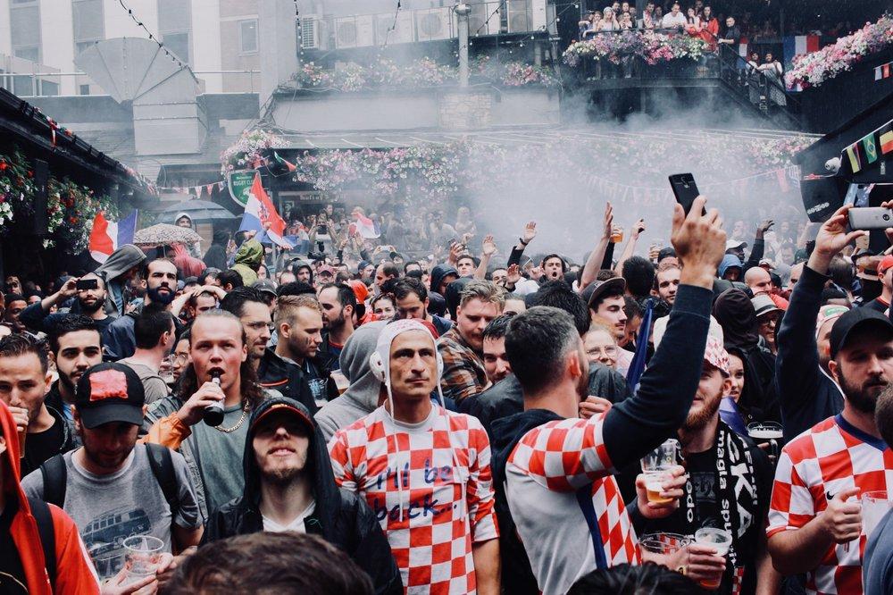 Tifosi croati, Dublino