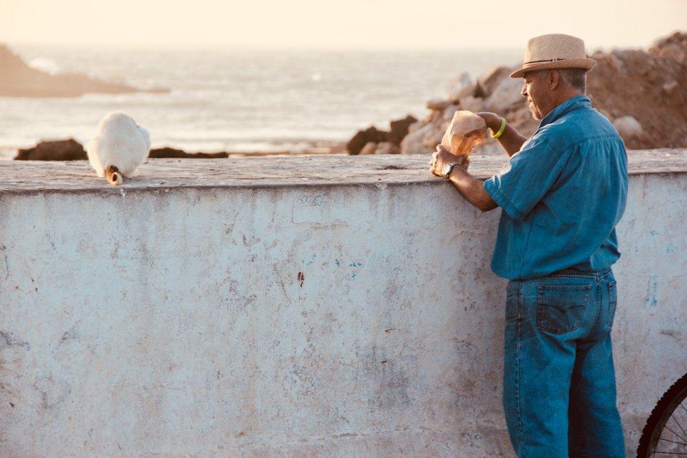 Il vecchio e il mare, Essaouira, Marocco
