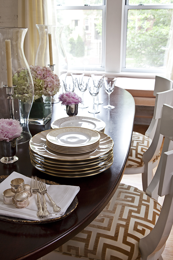 Dining Room by Wendy Labrum Interiors