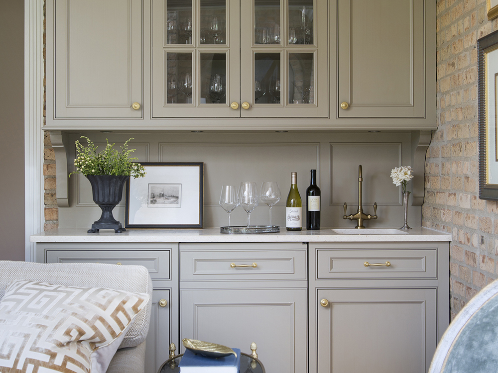 Wet Bar by Wendy Labrum Interiors, LLC.